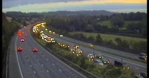 M25 crash updates: Two lanes closed due to accident near Reigate