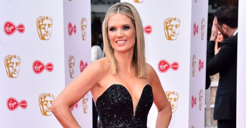 GMB presenter receives vaccine jab at Guildford site