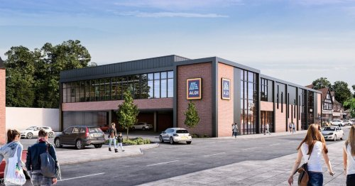 Aldi's plans for a new Surrey store less than a mile from Lidl