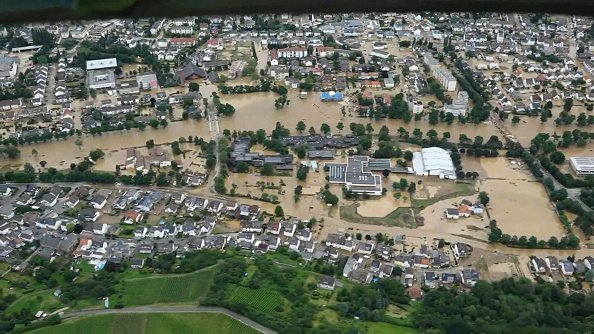 Further flooding in Western Germany