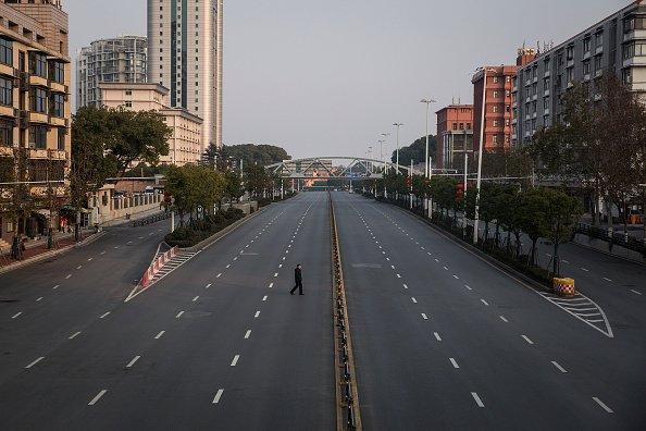 Wuhan during lockdown