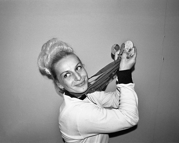 Vera Caslavska, 1968