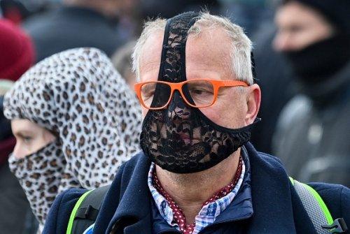 Proteste anti lockdown a Berlino