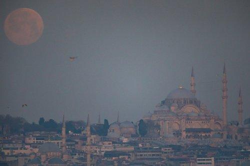 Over Suleymaniye Mosque