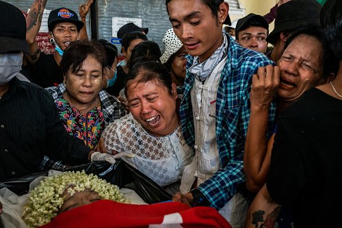 Myanmar Protests Continue