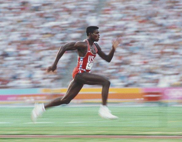 Carl Lewis at 1984 Games