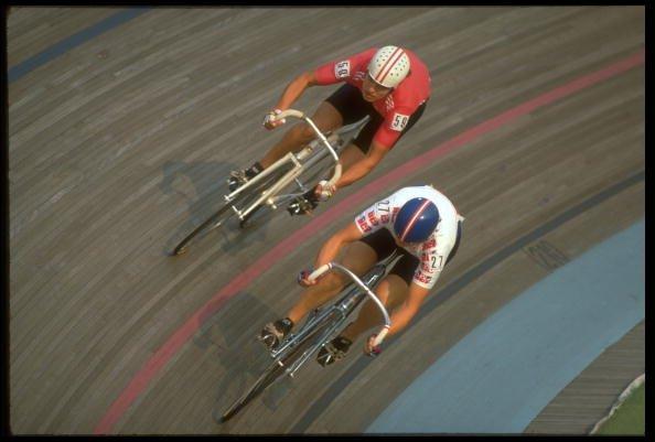 Louise Jones at 1988 Games