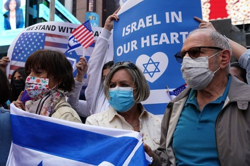 Show of Support for Israel in U.S.