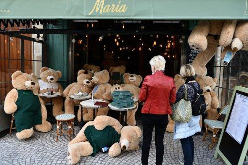 Cafe and Restaurant Closed in Paris