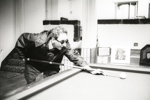 Nella sua casa di Milo, 1996
