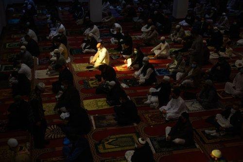Celebrazioni per la fine del Ramadan a Bradford in Inghilterra