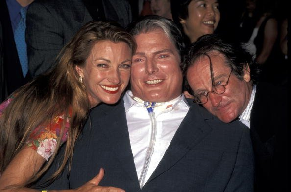 Jane Seymour, Christopher Reeve, and Robin Williams
