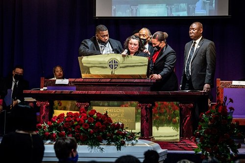 Daunte Wright's funeral