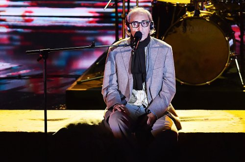 """Franco Battiato ad """"X Factor"""" nel 2015"""