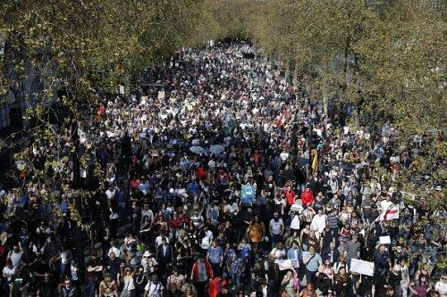 Protesting Vaccine Passports in the U.K.