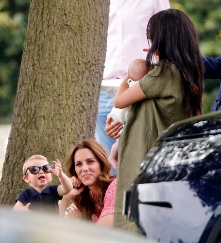 Prince Louis and Catherine