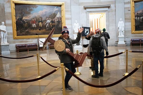Chaos at the Capitol