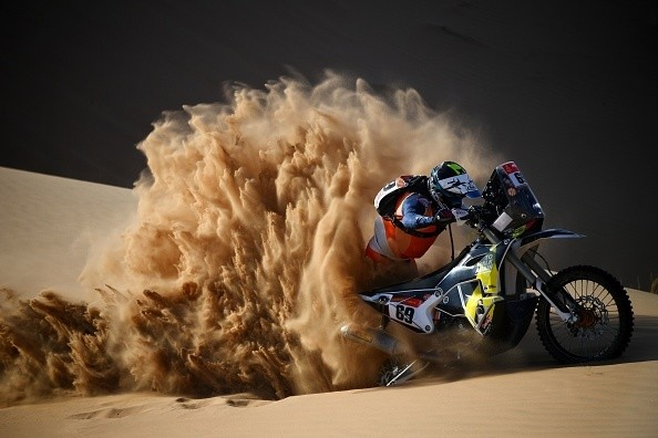 Kicking up dust