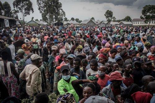 Goma Residents Await Aid