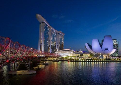 Singapore's Helix Bridge
