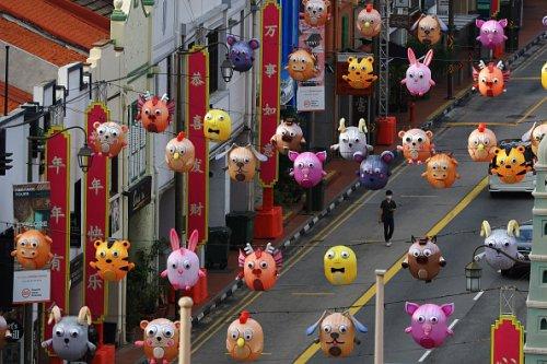 Singapore si prepara alla celebrazione del nuovo anno cinese