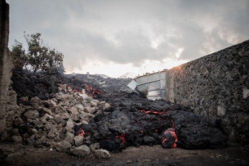 Lava Through Residential District