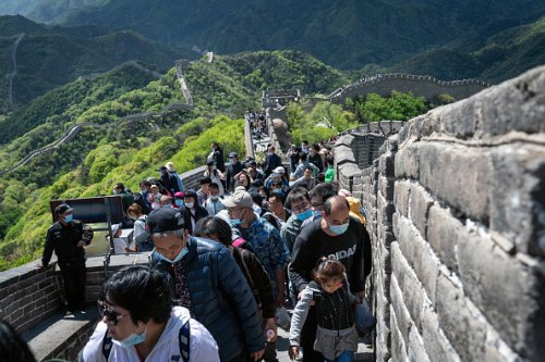 May Day on the Great Wall