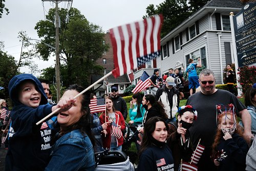 Parata annuale del Memorial Day a New York