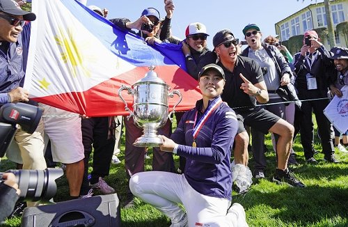 19 year-old wins a golf major