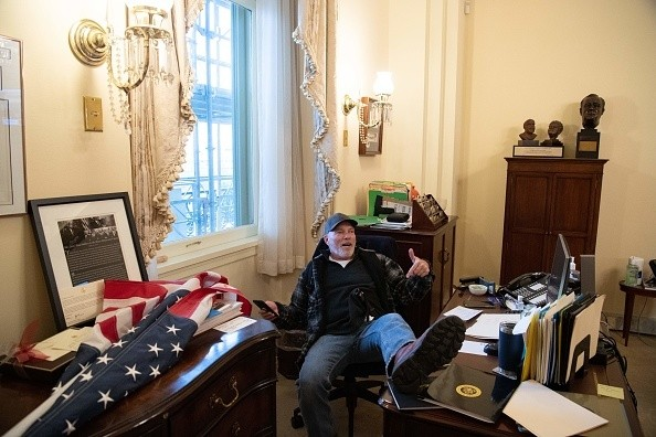 Inside Pelosi's office