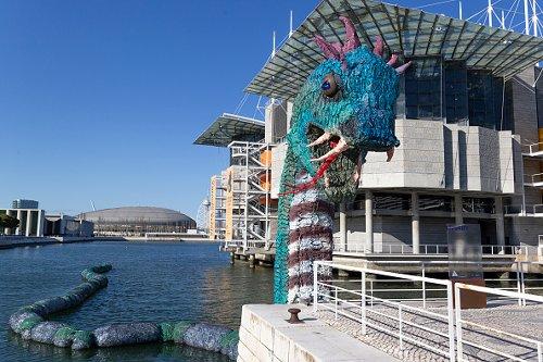 Lisbon's plastic marine monster