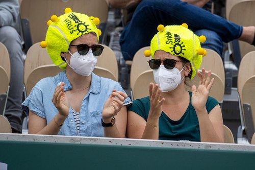 Tifosi al Roland Garros
