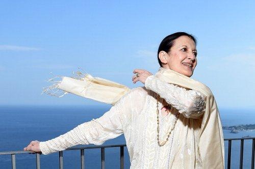 Carla Fracci partecipa al 60° Taormina Film Fest
