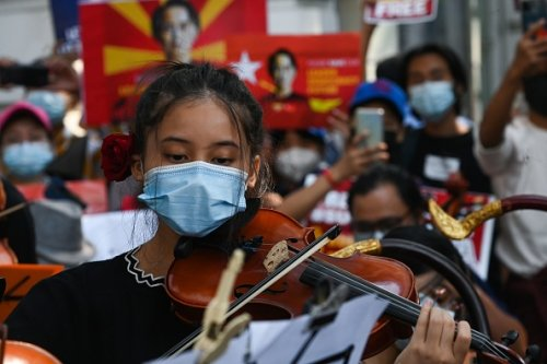 Musical protest
