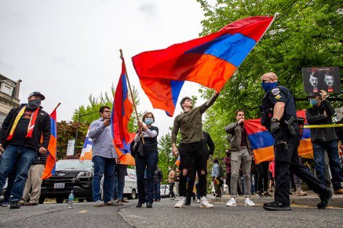 Armenian Demonstration in D.C.