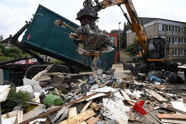 Excavating the debris