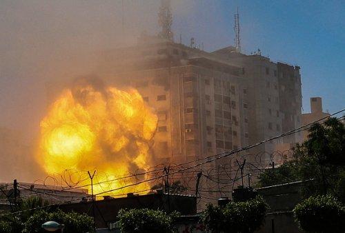 Attacco alla Jala Tower a Gaza