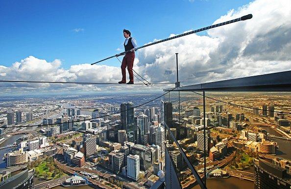 Step off a skyscraper in Melbourne