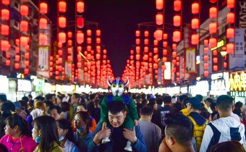 May Day at Luoyang Ancient Culture Street