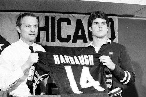 Jim Harbaugh, 1987