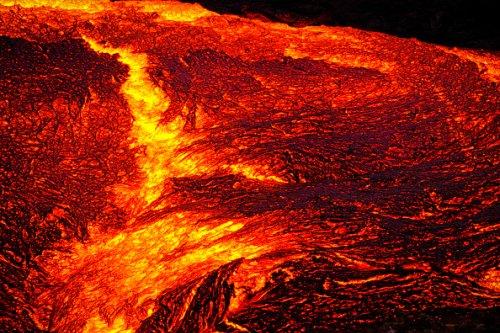 Lava Close-up