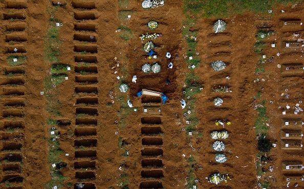 Cemetery plots in Brazil