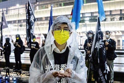 Manifestazione in Giappone per il 32esimo anniversario del massacro di piazza Tienanmen