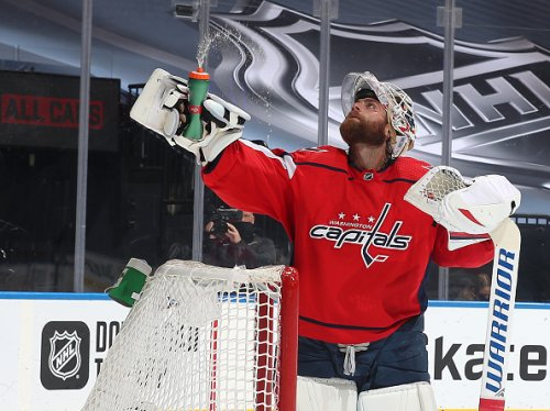 Capitals' Braden Holtby, 2020