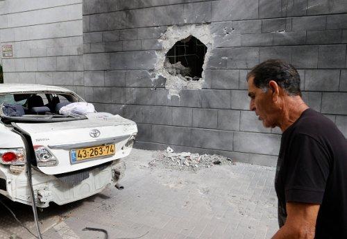 Attacco missilistico palestinese nella città meridionale di Ashkelon