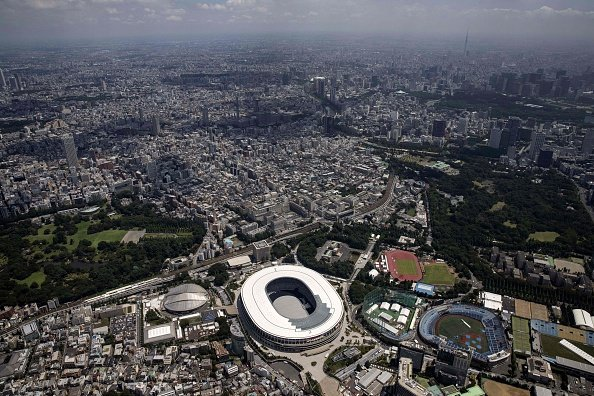 Overview of several Olympic venues