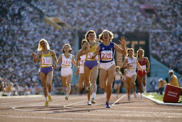 1,500-meter final in 1984