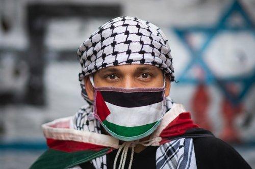 Manifestazione di solidarietà con il popolo palestinese a Buonos Aires