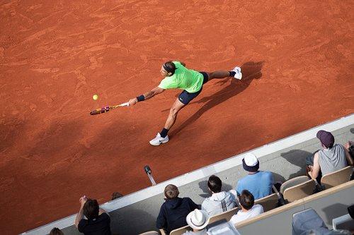 Rafael Nadal al Roland Garros