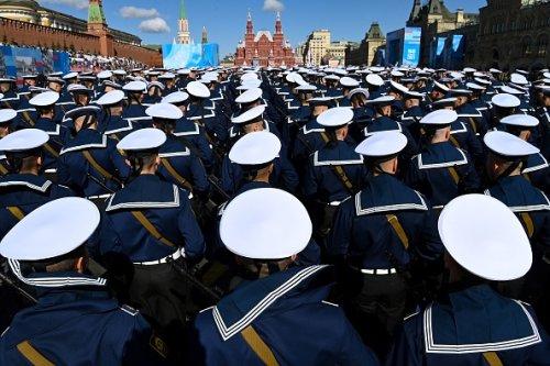 Parata militare a Mosca per l'anniversario della vittoria sulla Germania nazista durante la seconda guerra mondiale